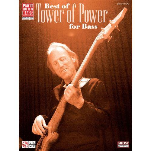 HAL LEONARD THE BEST OF TOWER OF POWER FOR BASS - BASS GUITAR