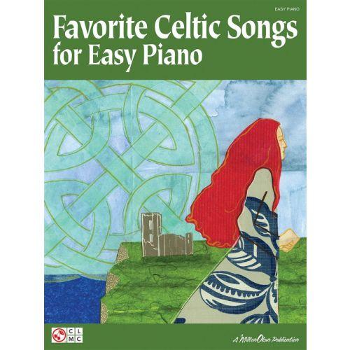 CHERRY LANE FAVORITE CELTIC SONGS EASY - PIANO SOLO