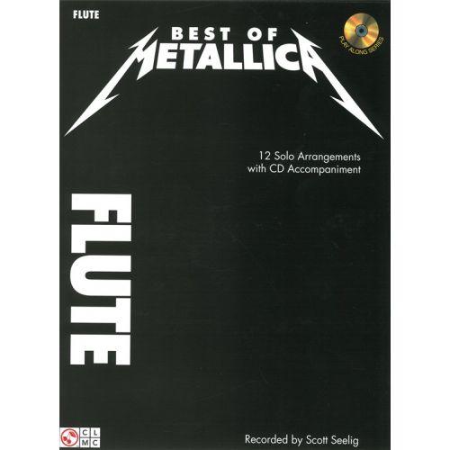 CHERRY LANE BEST OF METALLICA + CD - FLUTE