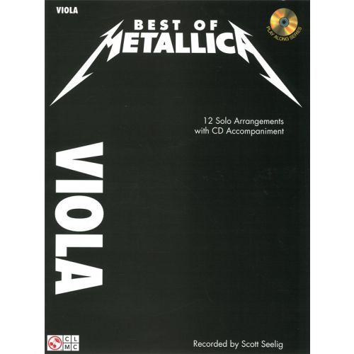 CHERRY LANE BEST OF METALLICA + CD - VIOLA