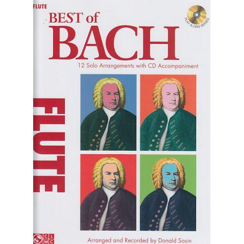 CHERRY LANE BACH J.S. - BEST OF BACH + CD - FLUTE