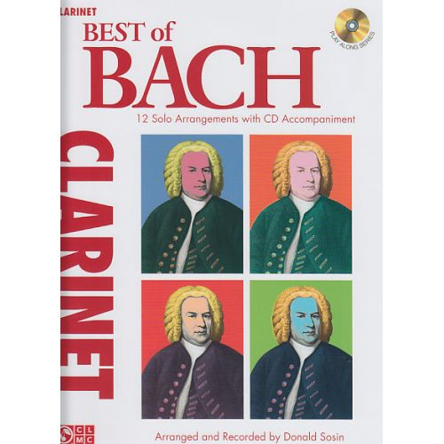 CHERRY LANE BACH J.S. - BEST OF BACH + CD - CLARINETTE