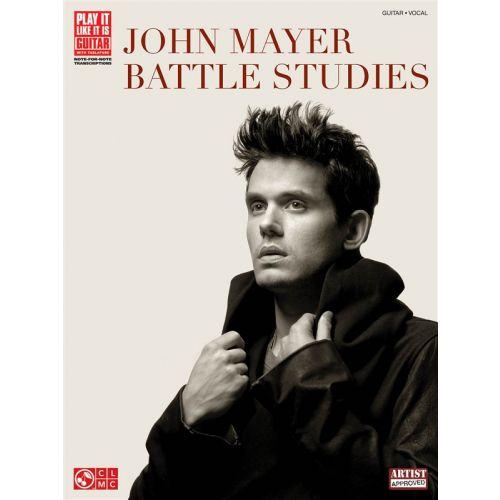 CHERRY LANE JOHN MAYER BATTLE STUDIES PLAY IT LIKE IT IS GUITAR TRANSCRIPTIONS - GUITAR TAB