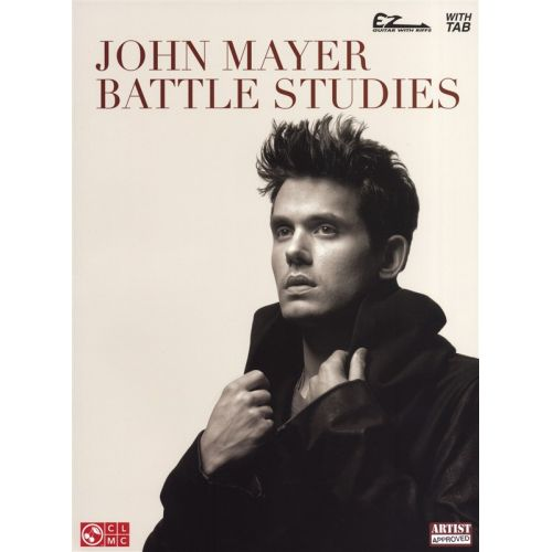 HAL LEONARD JOHN MAYER BATTLE STUDIES EASY GUITAR WITH NOTES - GUITAR