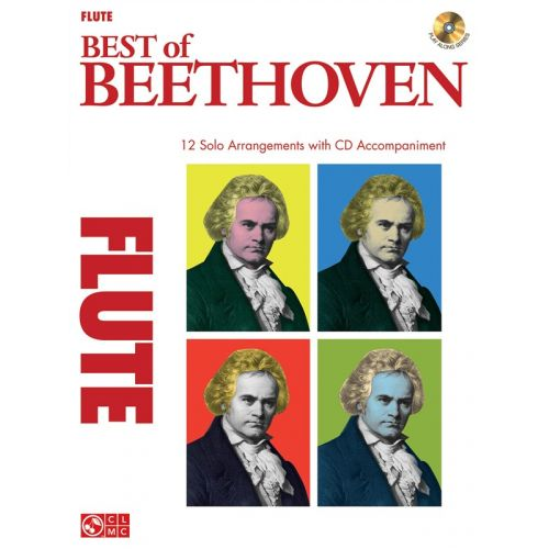 HAL LEONARD INSTRUMENTAL PLAY-ALONG BEST OF BEETHOVEN + CD - FLUTE