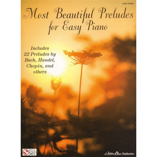 HAL LEONARD MOST BEAUTIFUL PRELUDES FOR EASY - PIANO SOLO