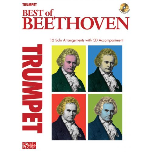 HAL LEONARD INSTRUMENTAL PLAY-ALONG BEST OF BEETHOVEN - TRUMPET