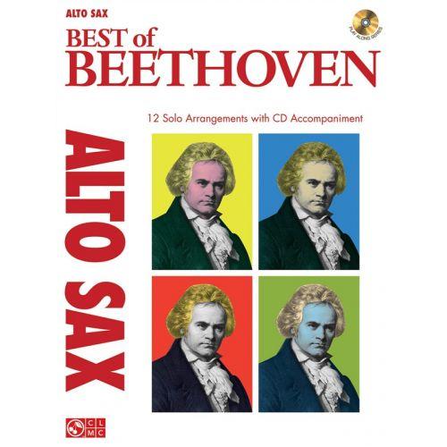 HAL LEONARD INSTRUMENTAL PLAY-ALONG BEST OF BEETHOVEN + CD - ALTO SAXOPHONE