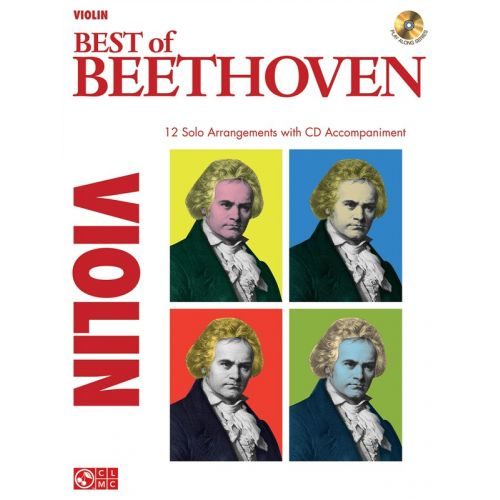 HAL LEONARD INSTRUMENTAL PLAY-ALONG BEST OF BEETHOVEN VIOLIN + CD - VIOLIN