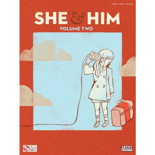 HAL LEONARD SHE AND HIM VOLUME 2 - PVG