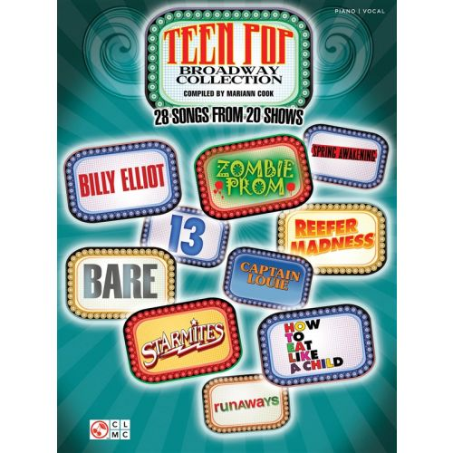 HAL LEONARD TEEN POP BROADWAY COLLECTION - PVG