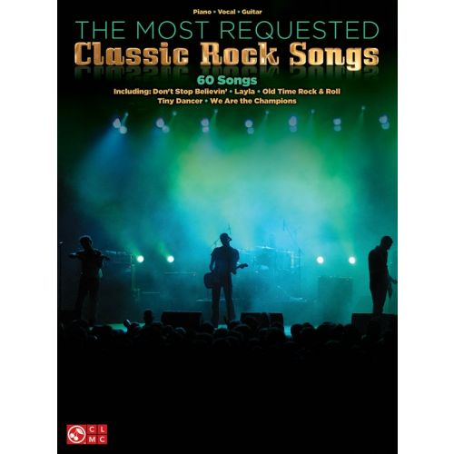 HAL LEONARD THE MOST REQUESTED CLASSIC ROCK SONGS - PVG