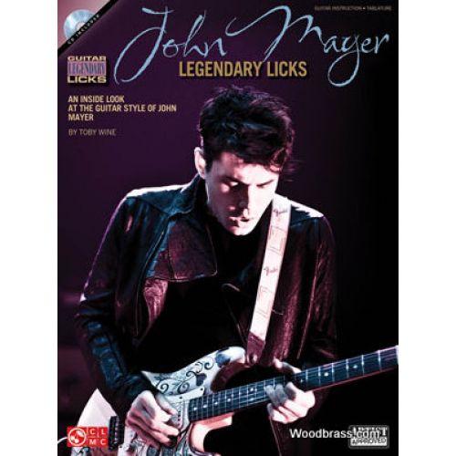 HAL LEONARD MAYER JOHN - LEGENDARY LICKS + CD