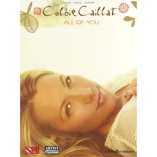 HAL LEONARD CAILLAT COLBIE ALL OF YOU - PVG