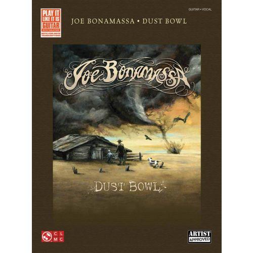 HAL LEONARD BONAMASSA JOE DUST BOWL PLAY IT LIKE IT IS GUITAR - GUITAR TAB