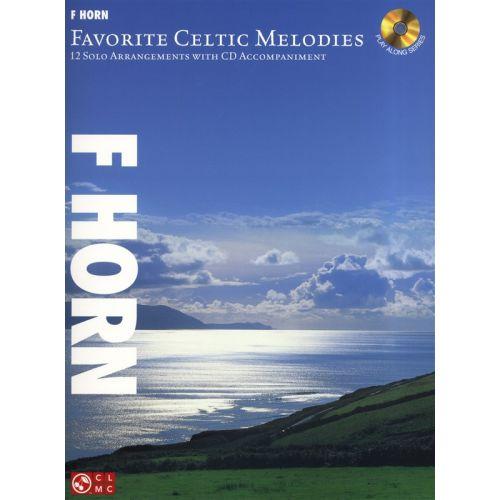HAL LEONARD FAVORITE CELTIC MELODIES 12 SOLO ARRANGEMENTS F + CD - HORN