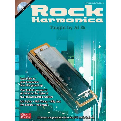 HAL LEONARD EK AL - ROCK HARMONICA + DVD - HARMONICA