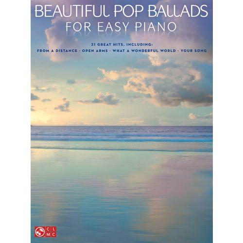HAL LEONARD BEAUTIFUL POP BALLADS FOR EASY - PIANO SOLO