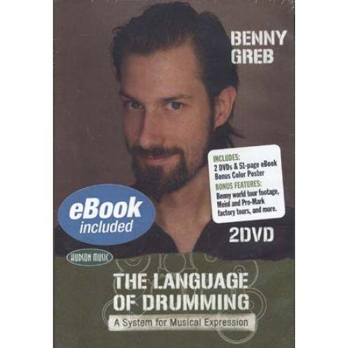 HUDSON MUSIC GREB BENNY - LANGUAGE OF DRUMMING + 2 DVD - BATTERIE