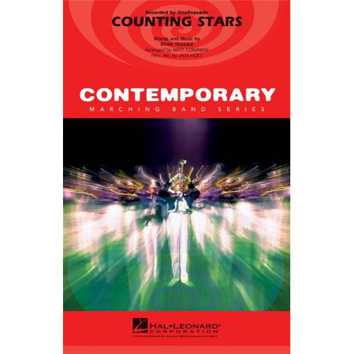 HAL LEONARD ONE REPUBLIC - COUNTING STARS - CONTEMPORARY MARCHING BAND