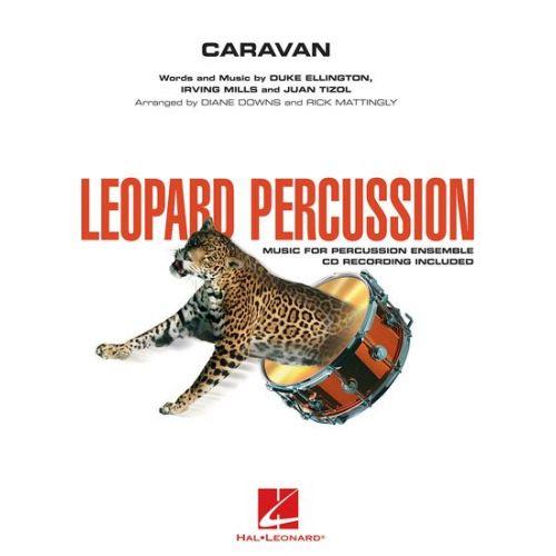 HAL LEONARD ELLINGTON DUKE - CARAVAN + CD - PERCUSSION ENSEMBLE