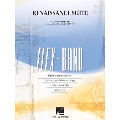 HAL LEONARD SUSATO - RENAISSANCE SUITE - FLEXIBLE ENSEMBLE