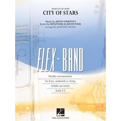 HAL LEONARD LA LA LAND - CITY OF STARS - FLEX-BAND SERIES