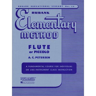 RUBANK PETERSON A.C. - RUBANK ELEMENTARY METHOD - FLUTE