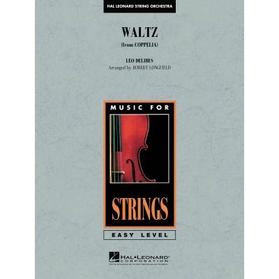 HAL LEONARD DELIBES LEO - WALTZ FROM COPPELIA (ARR. ROBERT LONGFIELD) - SCORE & PARTS