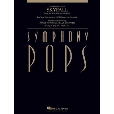 HAL LEONARD ADELE - SKYFALL (VOCAL SOLO WITH ORCHESTRA)
