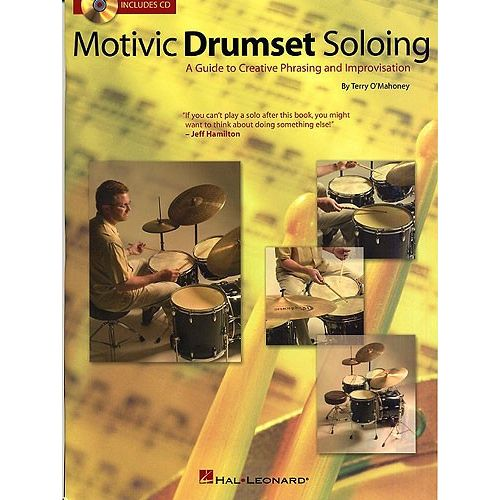 HAL LEONARD O'MAHONEY TERRY - MOTIVIC DRUMSET SOLOING - DRUMS