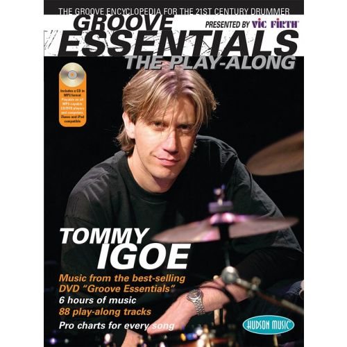 HAL LEONARD TOMMY IGOE GROOVE ESSENTIALS VOLUME 1 THE PLAY-ALONG DRUMS + CD - DRUMS
