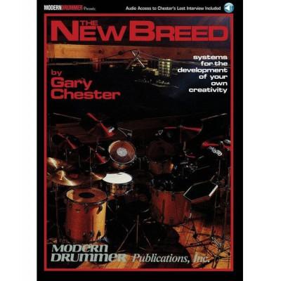HAL LEONARD CHESTER GARY - NEW BREED REVISED + MP3 - BATTERIE