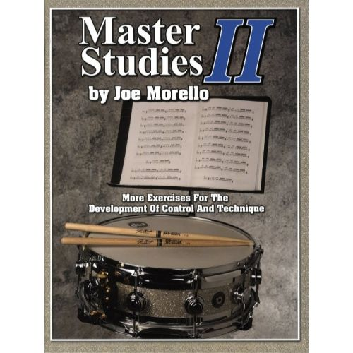 HAL LEONARD MORELLO JOE - MASTER STUDIES VOL.2