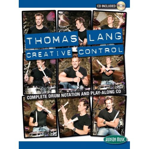 HUDSON MUSIC LANG THOMAS - THOMAS LANG - CREATIVE CONTROL + CD - PERCUSSION