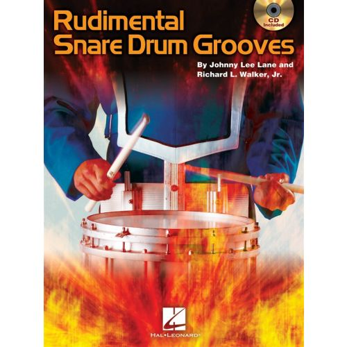 HAL LEONARD RUDIMENTAL SNARE DRUM GROOVES DRUMS + CD - DRUMS