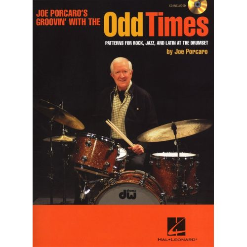 HAL LEONARD ODD TIMES PATTERNS FOR ROCK JAZZ AND LATIN AT THE DRUMSET DRUMS + CD - DRUMS