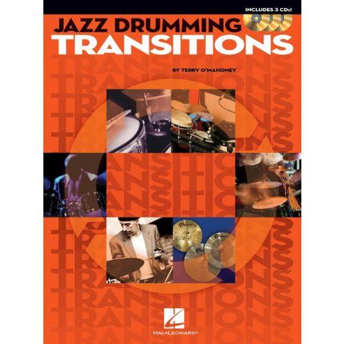 HAL LEONARD JAZZ DRUMMING TRANSITIONS + 3CD - DRUMS