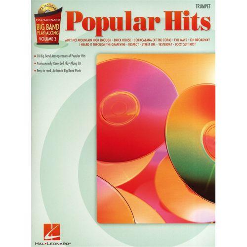 HAL LEONARD BIG BAND PLAY ALONG VOLUME 2 - POPULAR HITS - TRUMPET