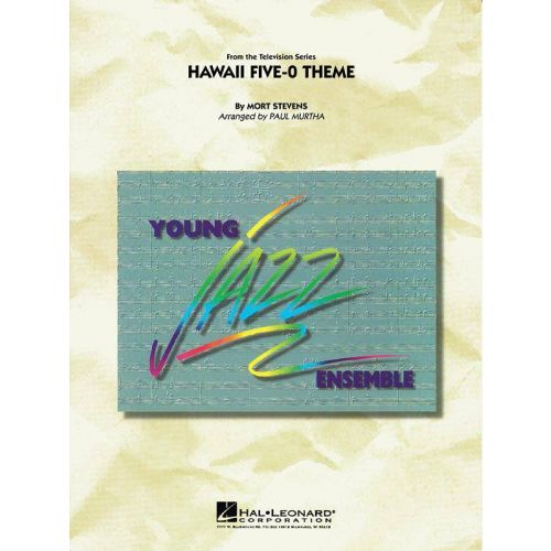 HAL LEONARD MORT STEVENS - HAWAII FIVE-0 THEME - SCORE AND PARTS