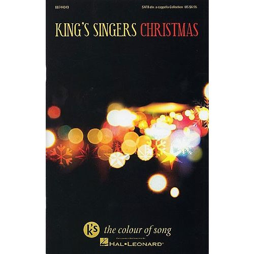 HAL LEONARD KING'S SINGERS CHRISTMAS COLLECTION CHORAL - SATB