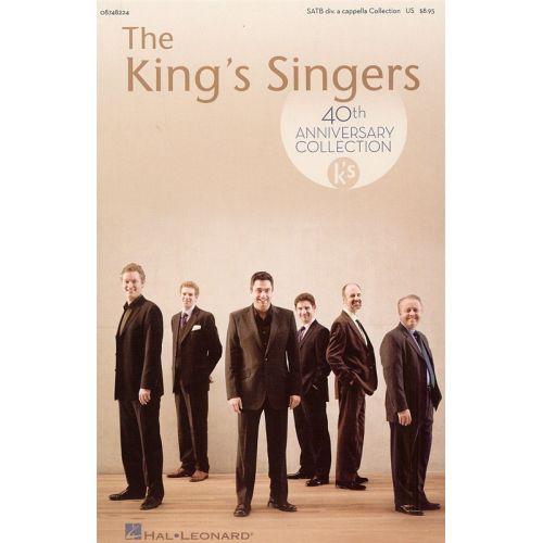 HAL LEONARD KING SINGERS 40TH ANNIVERSARY - SATB