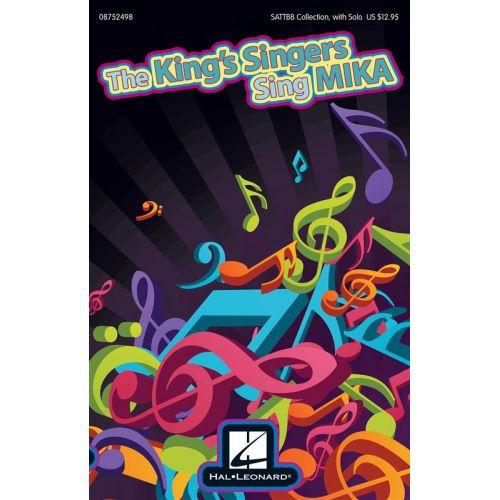 HAL LEONARD THE KINGS SINGERS SING MIKA - SATB