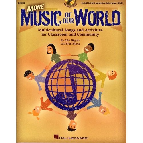 HAL LEONARD MORE MUSIC OF OUR WORLD CHOR + CD - WORLD