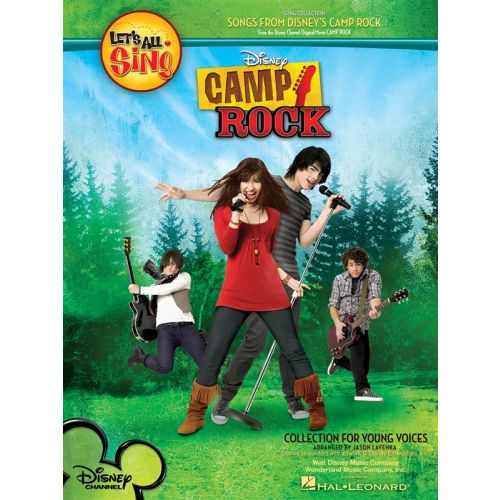 HAL LEONARD LET'S ALL SING SONGS FROM DISNEY'S CAMP ROCK COLLECTION FOR YOUNG VOI