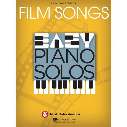 HAL LEONARD EASY PIANO SOLOS - FILM SONGS - PIANO SOLO