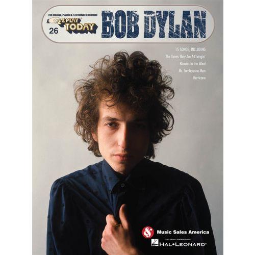 HAL LEONARD EZ PLAY TODAY VOLUME 26 DYLAN BOB - PIANO SOLO