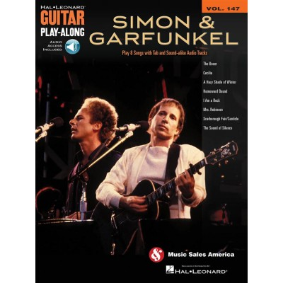 HAL LEONARD GUITAR PLAY ALONG VOLUME 147 SIMON AND GARFUNKEL + MP3 - GUITAR TAB
