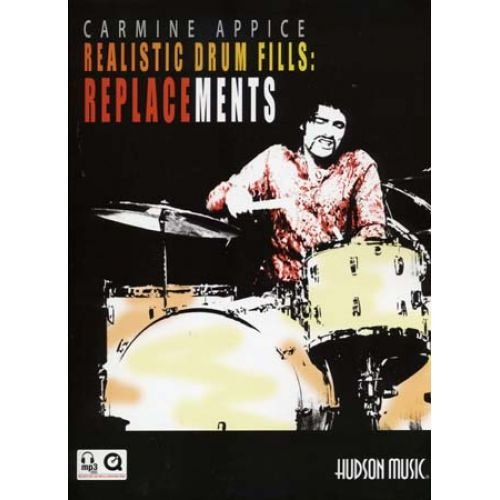 HUDSON MUSIC APPICE CARMINE - REALISTIC DRUM FILLS REPLACEMENTS + CD