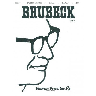 SHAWNEE PRESS DAVE BRUBECK VOL.1 - PIANO SOLO COLLECTION